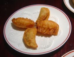 娘娘・揚げ餃子2種