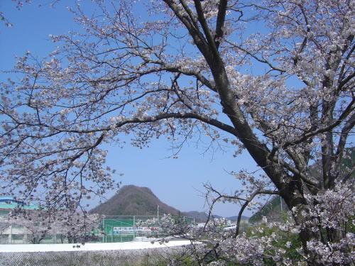 赤磐富士を望む