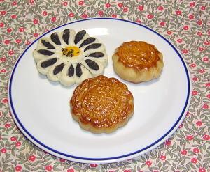 中華菓子3品
