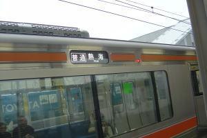 島田駅にて